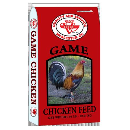 Big V Game Cock Breeder/Developer Rooster Feed