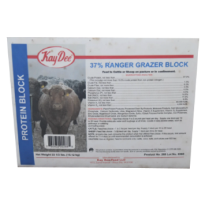 Kay-Dee Ranger 37% Grazer Block