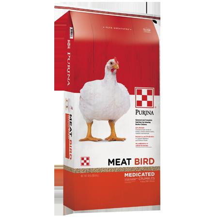 Purina Meat Bird Medicated