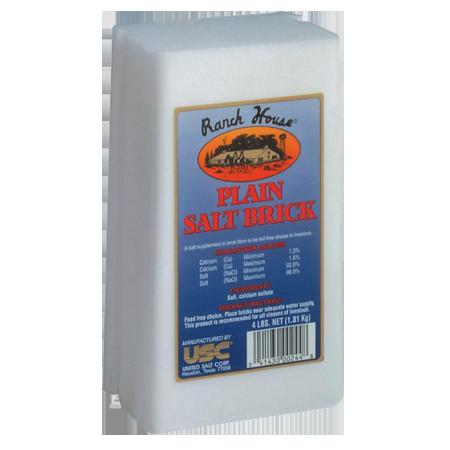 Ranch House Plain Salt Brick