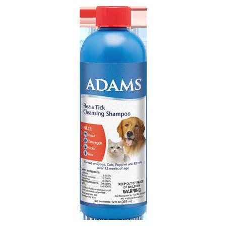 Adams Flea & Tick Cleansing Shampoo
