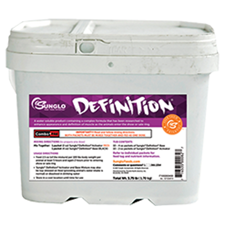 Sunglo Definition Show Cattle Supplement