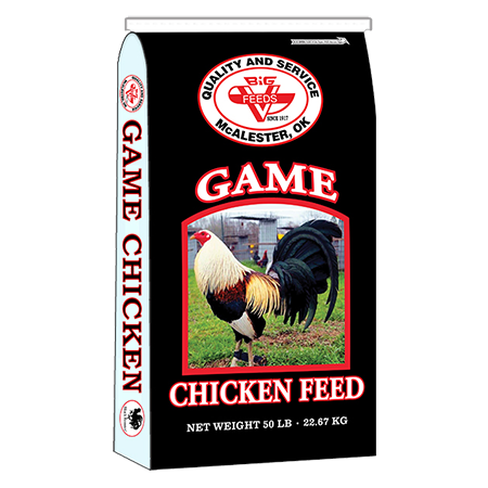 Big V Game Cock Maintenance (Black Rooster)