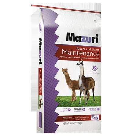 Mazuri Alpaca & Llama Maintenance 50lb Bag