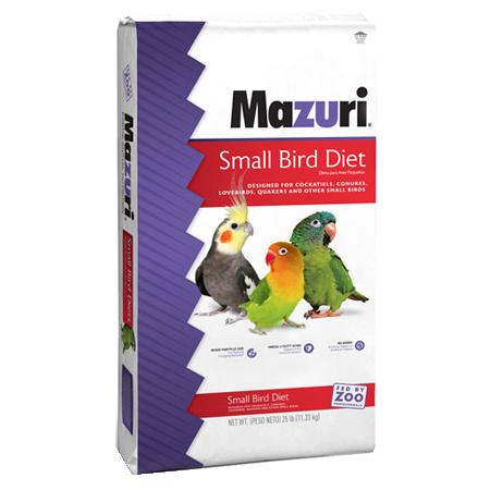 Mazuri Small Bird Breeder Feed Bag 56A7