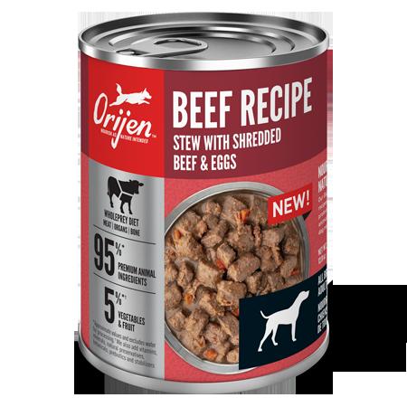 ORIJEN Premium Beef Recipe Stew Can