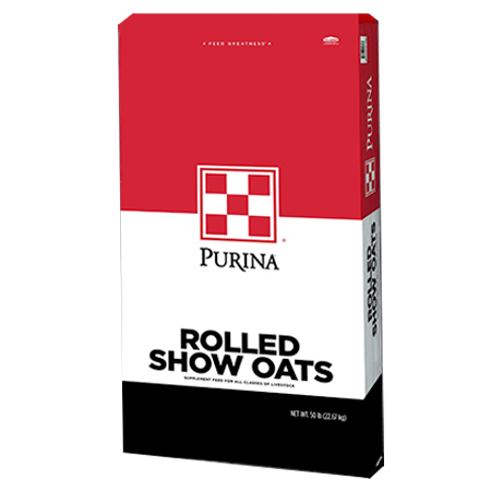 Purina Rolled Show Oats Bag