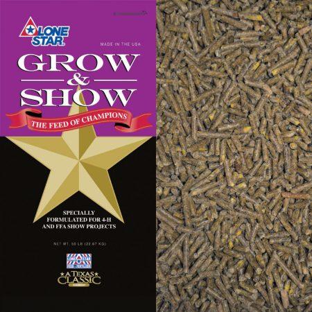 Goat Grow & Show (Medicated) 1701 50-lb Bag