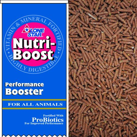 Pelleted performance booster for all animals.