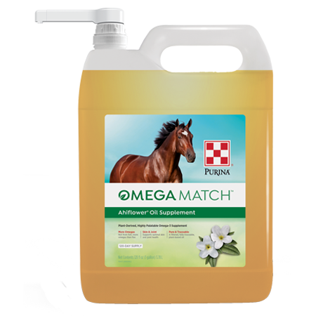 Purina Omega Match AhiFlower Oil Supplement