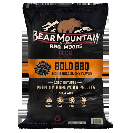 Bear Mountain BBQ Craft Blends Wood Pellets 20-lb Bag