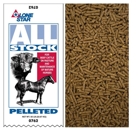 Lone Star 12% Pelleted All Stock 0762 50-lb Bag