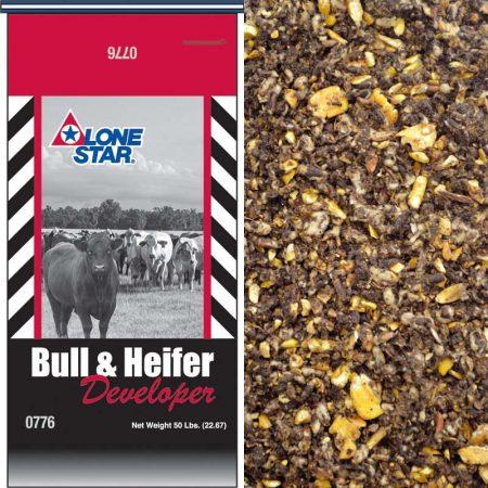 Lone Star Bull & Heifer Developer (Medicated) 0776 50-lb