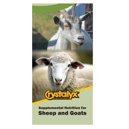 Crystalyx Sheep and Goat Supplement 700R