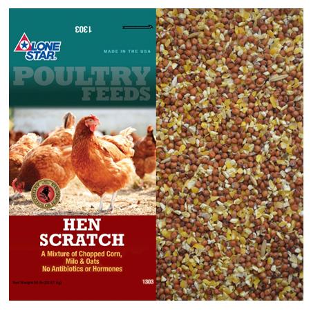 Lone Star Hen Scratch 1303 50-lb Bag
