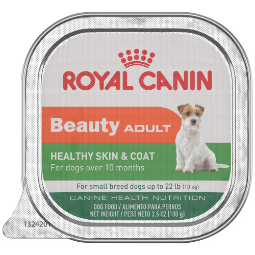Royal Canin Adult Beauty Ge; Canned Dog Food 3.5-oz Tray