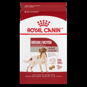 Royal Canin Medium Adult Dry Dog Food 30-lb Bag