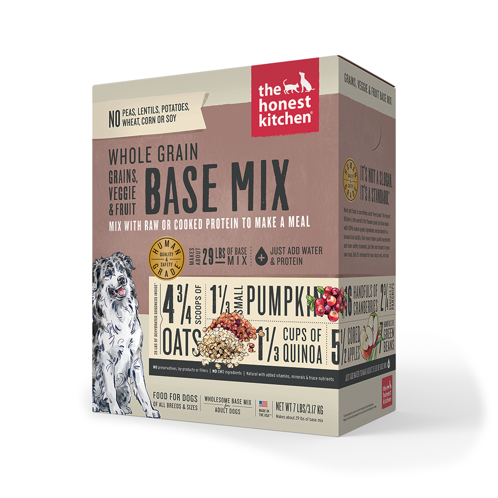 Whole Grain Veggie and Fruit Base Mix Dog Food Box Case