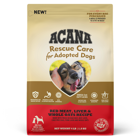 Acana Rescue Care Red Meat, Liver, and Whole Oats Dry Dog Food