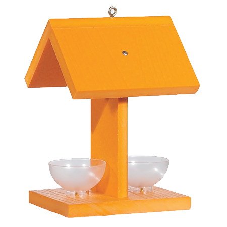 Panacea Audubon Recycled Oriole Feeder With Jelly Dishes