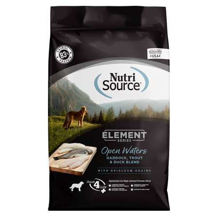 NutriSource Element Series Open Waters Dry Dog Food Bag