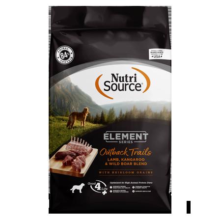 NutriSource Element Series Outback Trails Dry Dog Food Bag