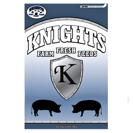 Knight Pig Feed Bag