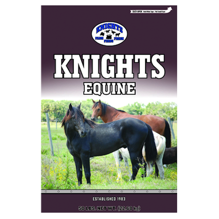 Knight's Equine Horse Feed Bag