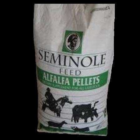 Seminole Alfalfa Pellets 50-lb Feed Bag