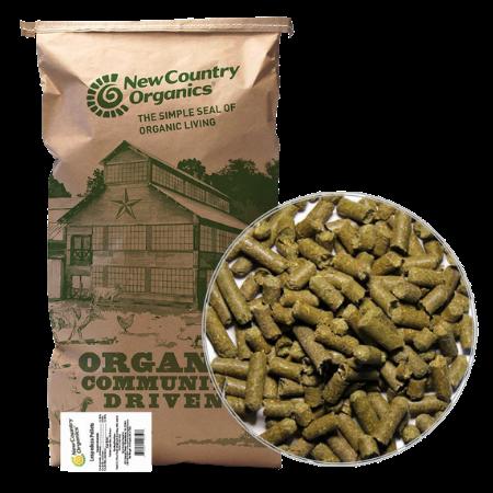New Country Organics Lespedeza Pellets, 40-lb Bag