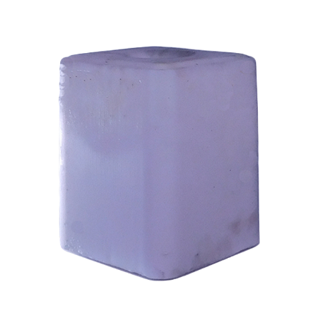 Central States Plain Salt Block White 50-lb