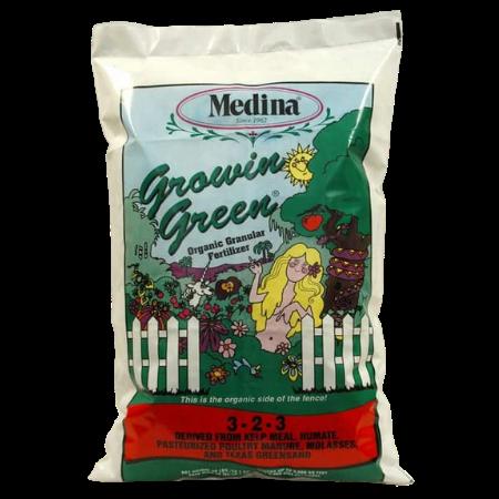 White plastic fertilizer bag. Color garden. Organic Fertilizer