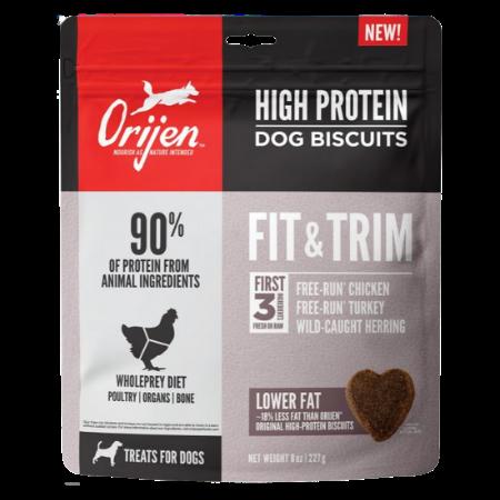 ORIJEN High Protein Fit & Trim Dog Biscuits